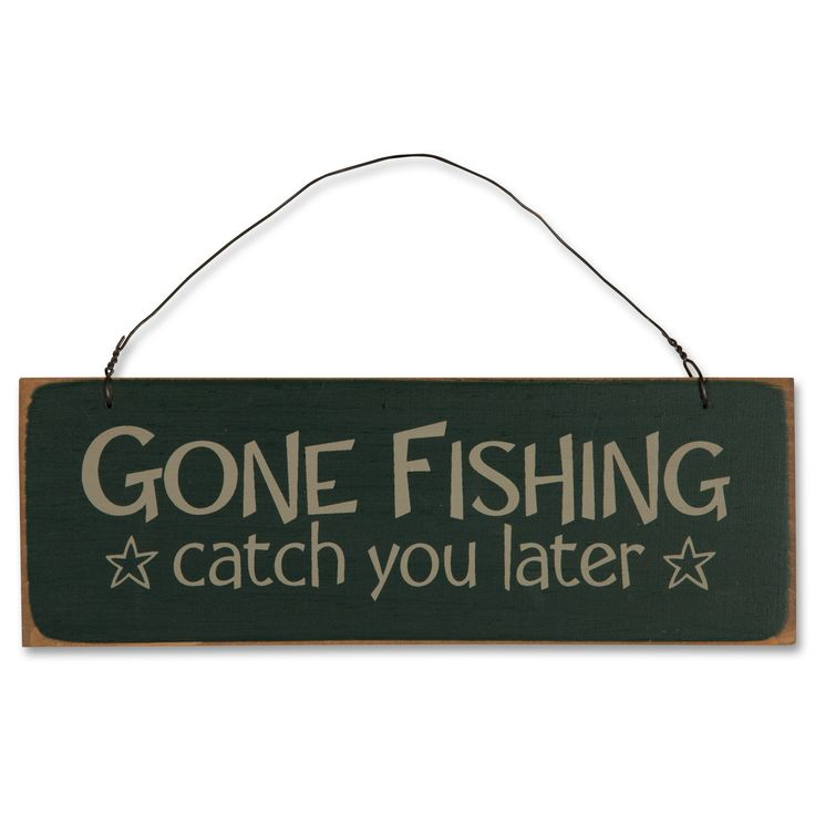 gone fishing sign funny bone pinterest