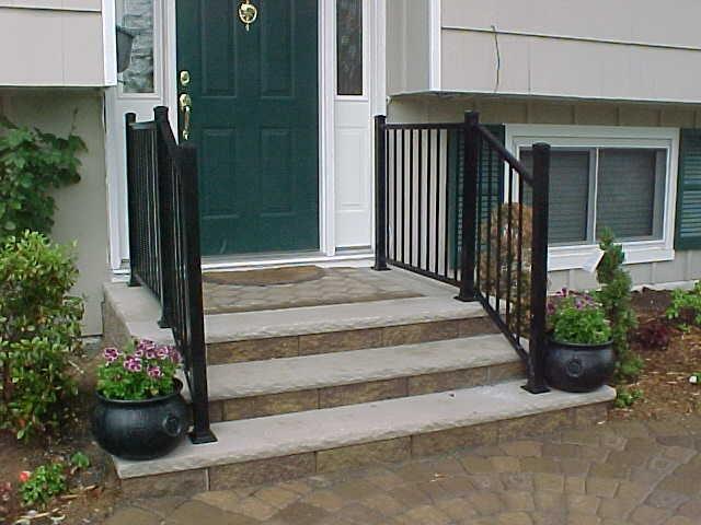 Best Front Steps Railing Ideas For Home Pinterest 400 x 300