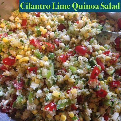 Cilantro Lime Quinoa Salad | Quinoa | Pinterest