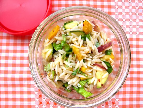 vegan zesty zucchini and orzo #salad looks good for lunches! via ...
