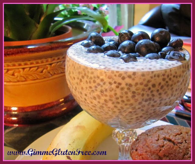 ... almonds instead of fruit Gimme Gluten Free: Vanilla Chia Pudding