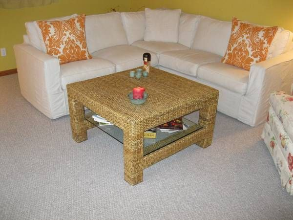 Cottage Style Wicker Coffee Table Furniture To Think About Pinter