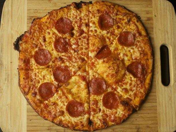 Crispy Bar-Style Pizza from Serious Eats (http://punchfork.com/recipe ...