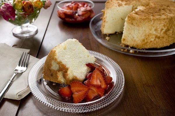 Orange Angel Food Cake with Strawberries | Favorite Recipes & Sweet S ...