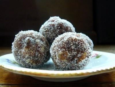 Charoset truffles for Passover | recipes to try | Pinterest