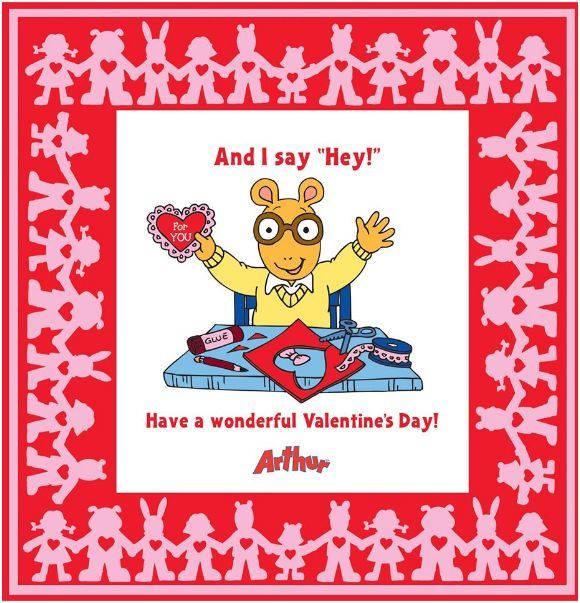 Arthur border! Valentine's Day   Holidays and gifts   Pinterest