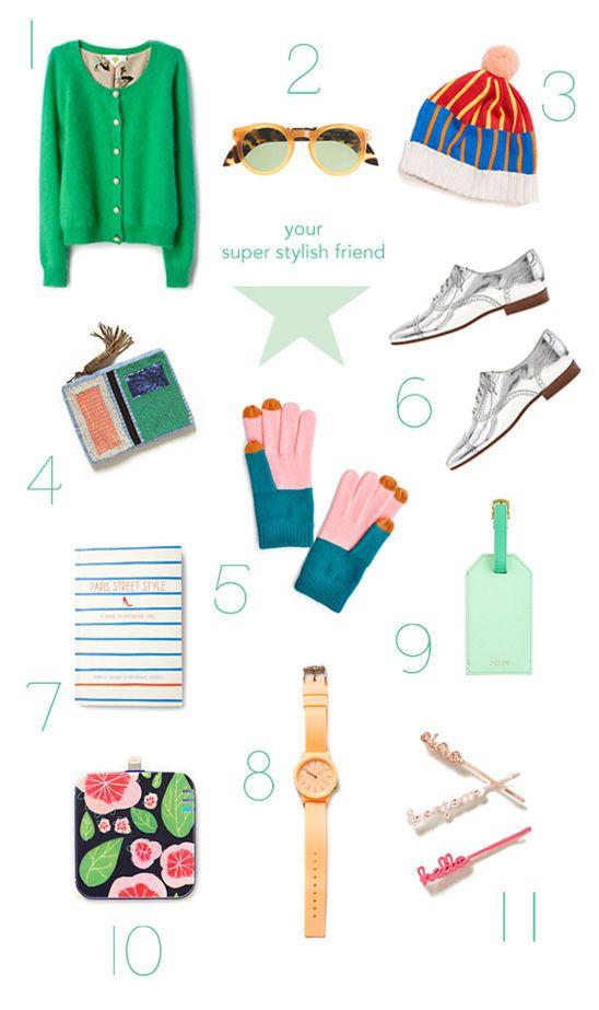 stylish girlfriend gift guide