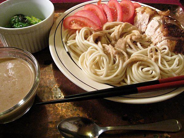 Sesame Sauce with Udon | azn om-nom-nom | Pinterest