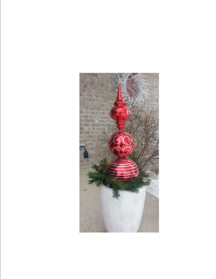 Diy outdoor christmas decorations pinterest photograph my for Christmas outdoor decorations diy