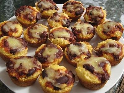 Chili Cheese Cornbread Muffin | mini size | Pinterest