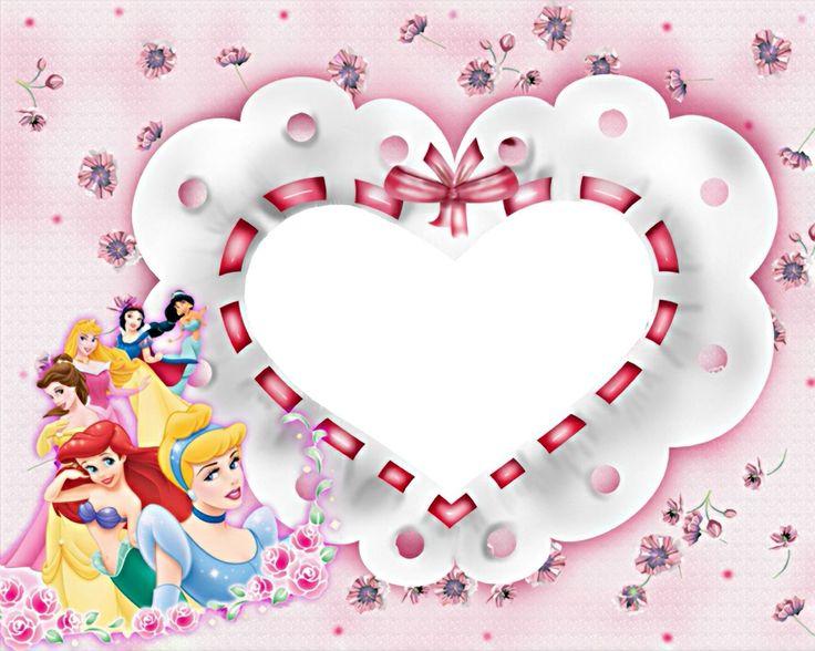 Tarjetas de las Princesas de Disney para personalizar4