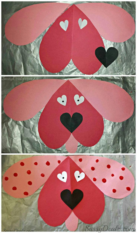 Heart Dog | Crafts for Kids | Pinterest