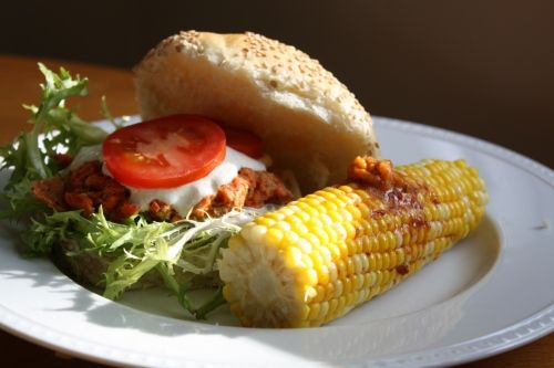 ... -with-horseradish-sauce-and-corn-on-the-cob-with-chipotle-butter