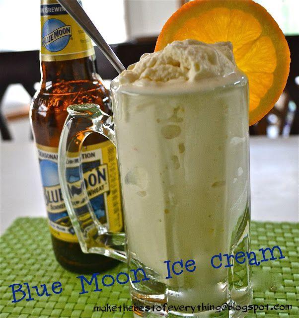 Blue Moon Ice Cream | Someday I'll Be 21 | Pinterest