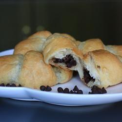 Chocolate-Filled Crescents Allrecipes.com