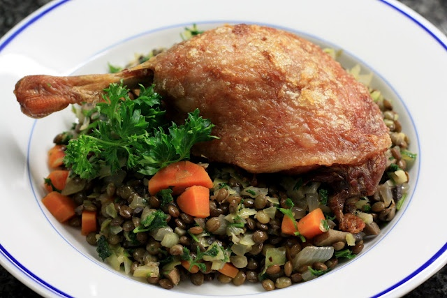 Easy duck confit with lentils | Food and Drink | Pinterest