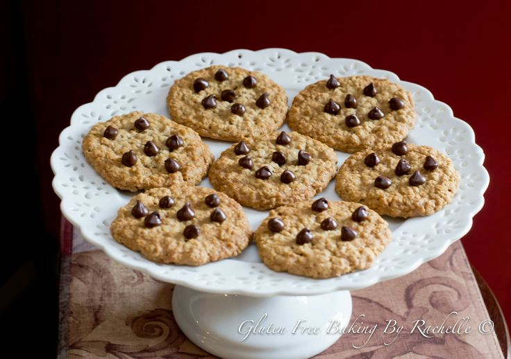... Free Baking By Rachelle: Gluten free Oatmeal Chocolate Chip Cookies