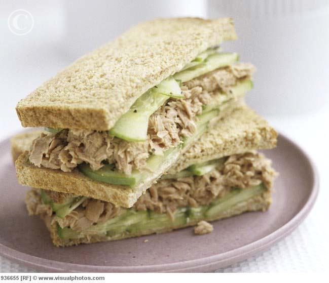 Tuna and cucumber sandwich | Favorite Recipes | Pinterest