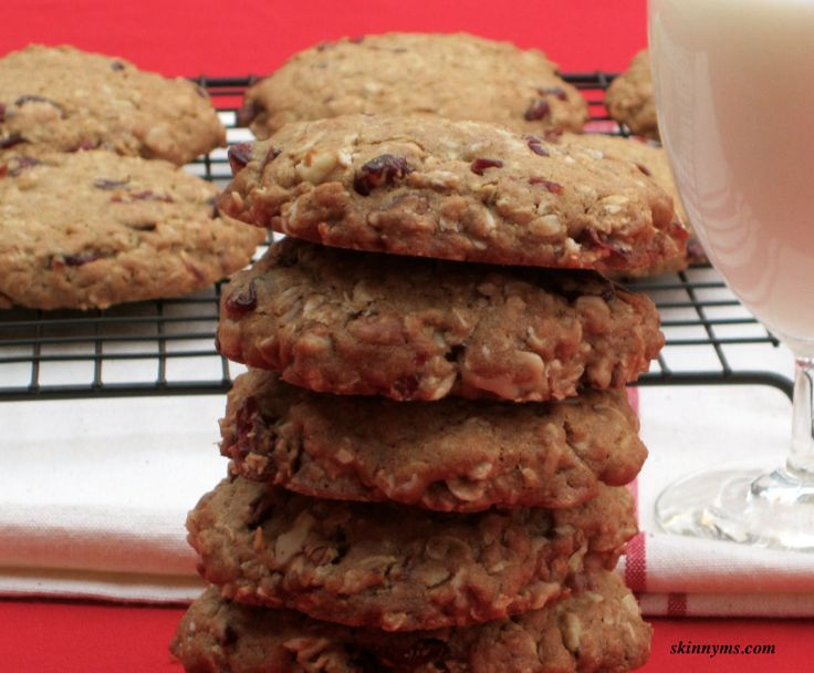 ... Chewy Oatmeal Cookies, filled with heart healthy oatmeal, rather than