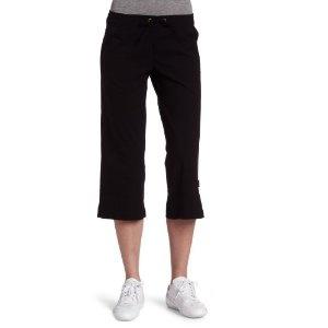 prAna Women's Bliss Capri, Black, Large --- http://www.pinterest.com