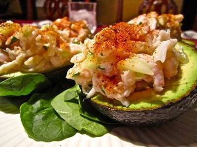 Seafood Stuffed Avocados | Classic Casseroles | Pinterest