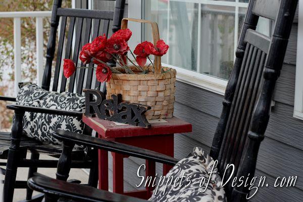 porch spring decorating ideas christmas ideas pinterest