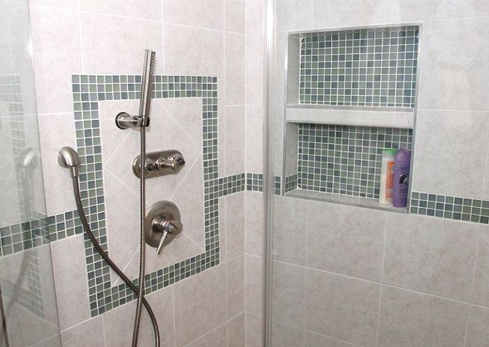 shower stall tile ideas master bathrooms pinterest