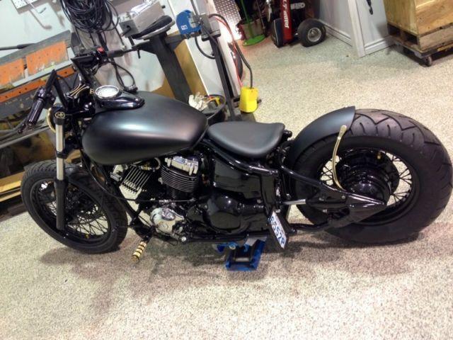 1000 images about xvs bobber on pinterest for Yamaha v star 650 custom bobber kit