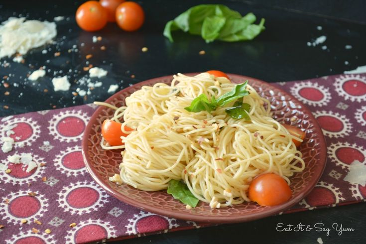Quick and Easy Midnight Spaghetti | Pasta (meatless) | Pinterest