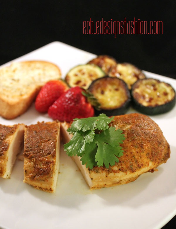 Especially Creative Broad): Baked Dijon and Lime Chicken