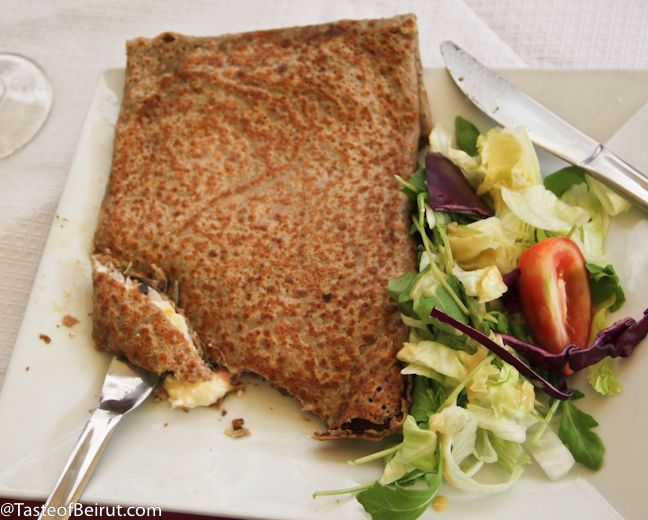 100% buckwheat crepe | crepes | Pinterest