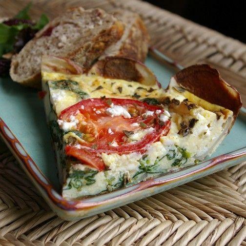 Greek Frittata | Favorite Recipes | Pinterest