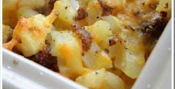 Cheesy Potato Breakfast Casserole | Recipes to Try | Pinterest