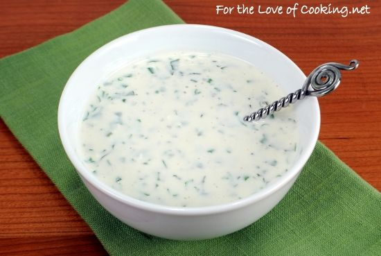 Creamy buttermilk ranch dressing | Dips, Dressings, Sauces and Spread ...