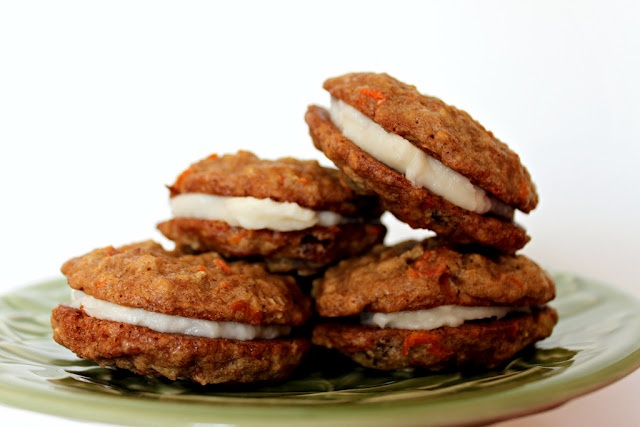 Carrot Cake Sandwich Cookies | Cakes, Cookies and Pies OH MY! | Pinte ...