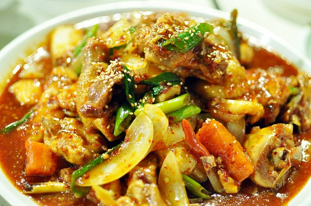 Korean Spicy Chicken Stew ~ maps and fragments ~ yumm ~ http://www ...