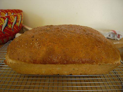 Garlic Herb Batter Bread | Recipe
