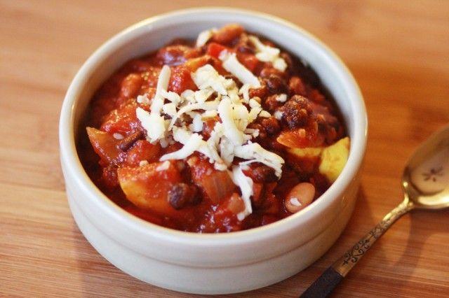 Vegetarian Chili {Food Coma} | Food | Pinterest