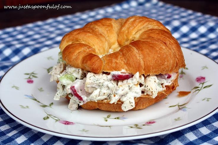 Chicken Salad Sandwich | Sandwiches & Burgers | Pinterest