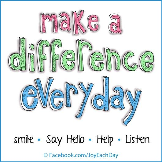 Make A Difference Inspirational Quotes Quotesgram
