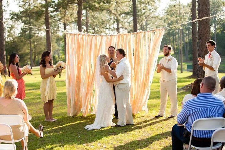 Wedding altar backdrop | Weddings | Pinterest