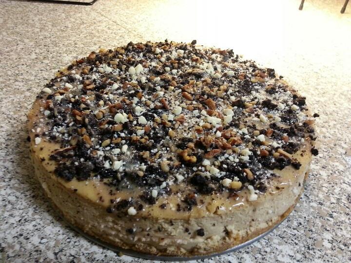 caramel macchiato cheesecake 2012 x'mas | my sweet creations | Pinter ...