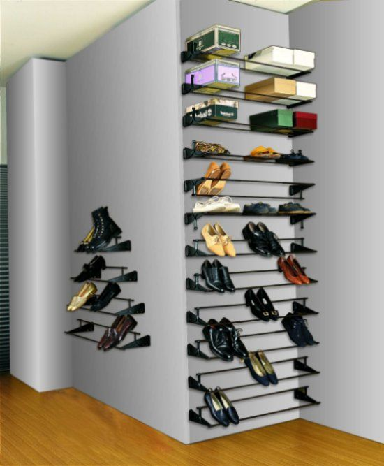 Diy Shoe Boot Storage Shoe Shelf Plans Closet Envy Pinterest