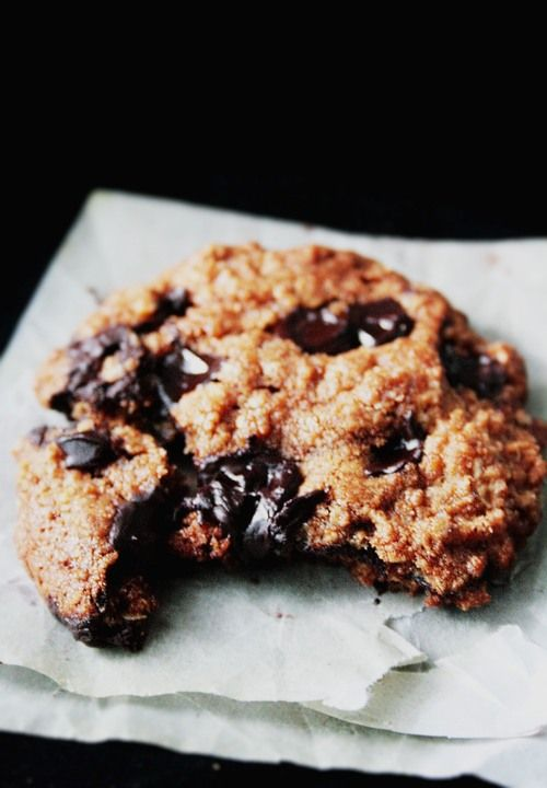 Making Oatmeal Chocolate Chip Cookies | Yum | Pinterest