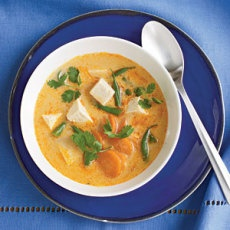 Fiery Tofu and Coconut Curry Soup | A Vegan in the making | Pinterest