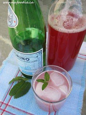 Rhubarb Raspberry Syrup   wannafoodie.ca   Pinterest