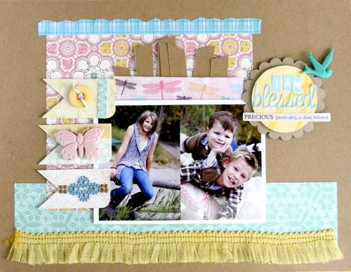 Topic: Document your blessings from @Courtney Baker Walsh #scrapbooking #scrapbookingidea