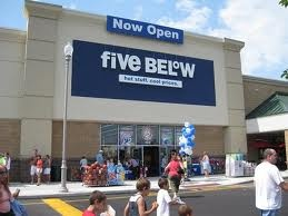 My other fav store five and below