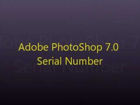 how to write in photoshop 7.0