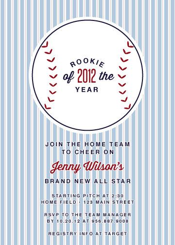 vintage baseball baby shower invitations by delightpaperie on etsy